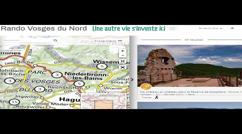 VOSGES : Un site pour randonner dans les Vosges du Nord