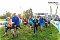 MARCHE NORDIQUE : La FFRandonnée bien présente au dernier NordicWalkin'Lyon